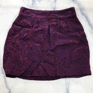Urban Outfitters Silence + Noise Metallic Skirt